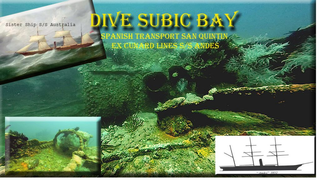 dive subic bay with johans beach resort philippines