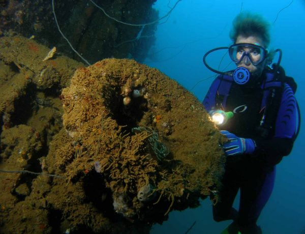 Historical Wrecks in Subic Bay